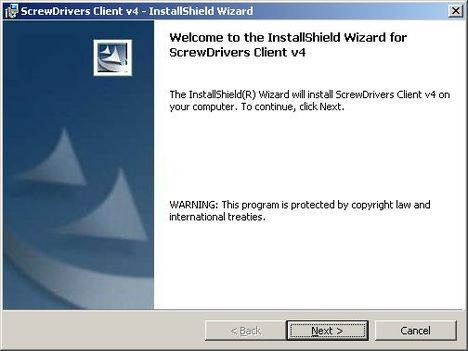 Установка и настройка ScrewDrivers Client v.4 на клиент терминалов RDP   screw drivers client 1